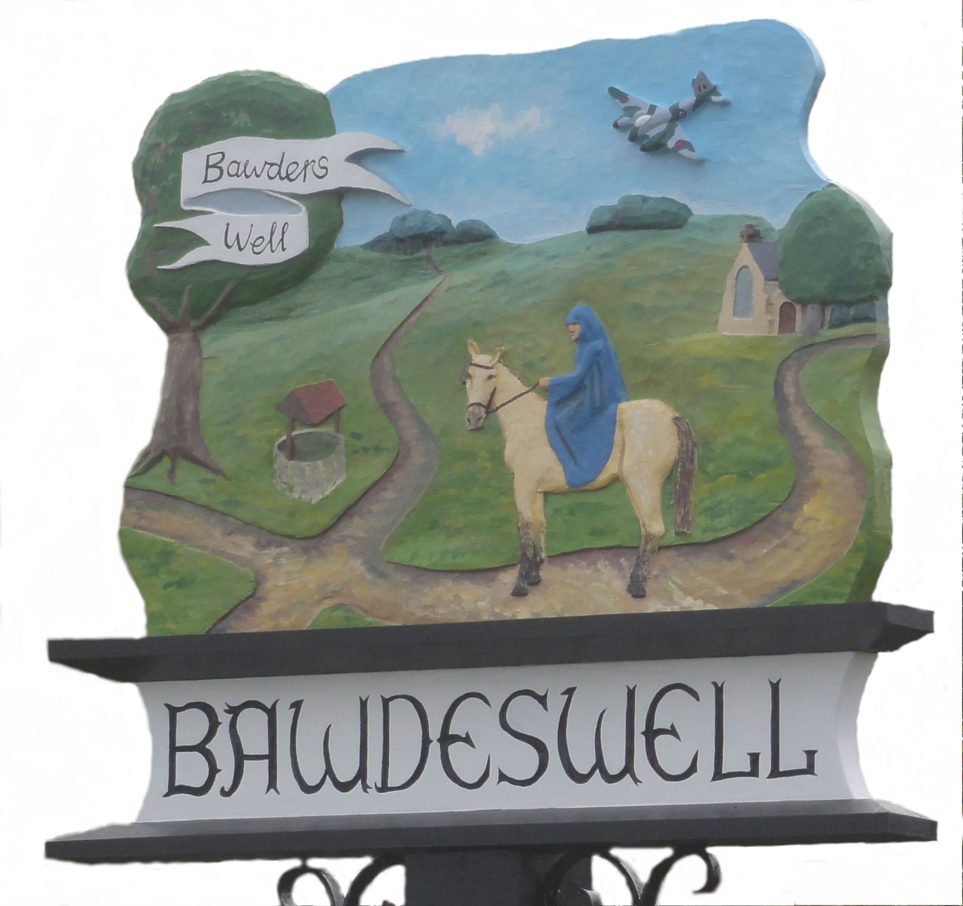 Bawdeswell village sign